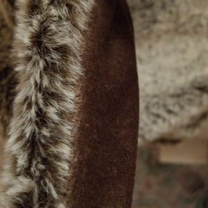 Martha Stewart Bedding - Martha Stewart Faux Fur Throw